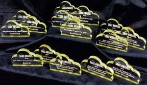 SaaS Awards Trophies