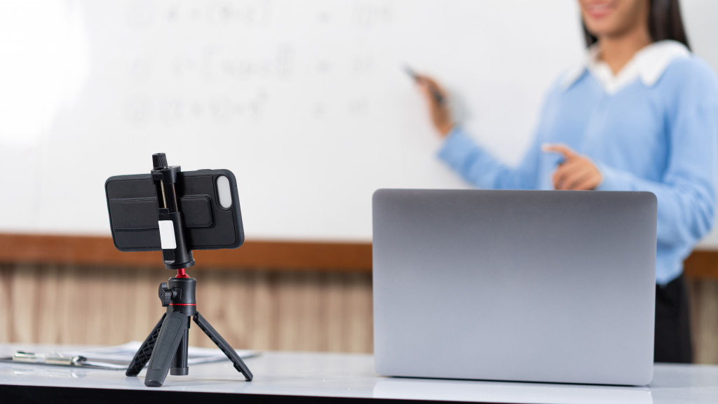 Many lessons have to be taught remotely, with some pupils not returning to the classroom